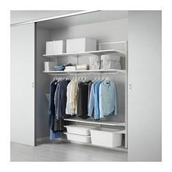 ALGOT - Rangka dinding/rak/kotak, putih