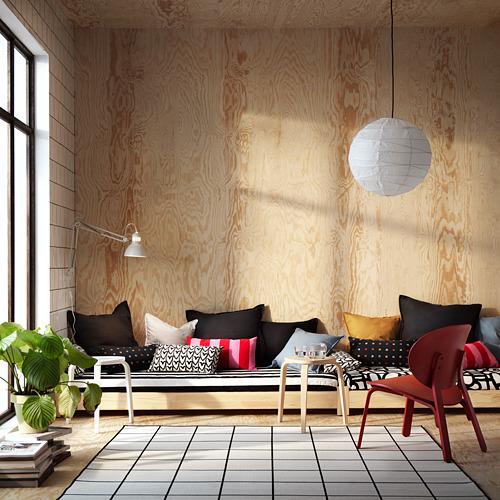 SVALLERUP karpet anyaman datar, dlm/lr rngn
