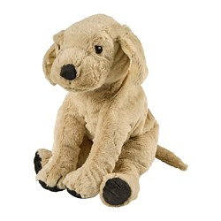 GOSIG GOLDEN - Boneka, anjing/golden retriever, 40 cm