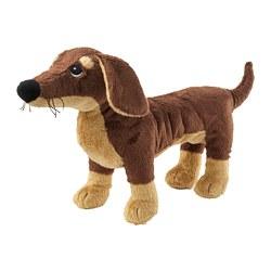 SMÅSLUG - Boneka, anjing/cokelat