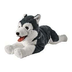 LIVLIG - Boneka, anjing/siberian husky