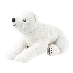 SNUTTIG - Boneka, beruang kutub/putih
