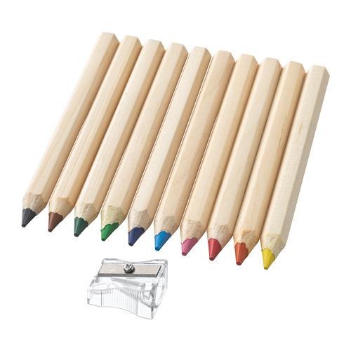MÅLA pensil warna