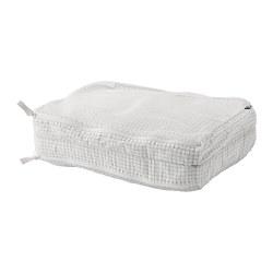 RENSARE - Kantung baju dengan kompartemen, pola kotak/putih