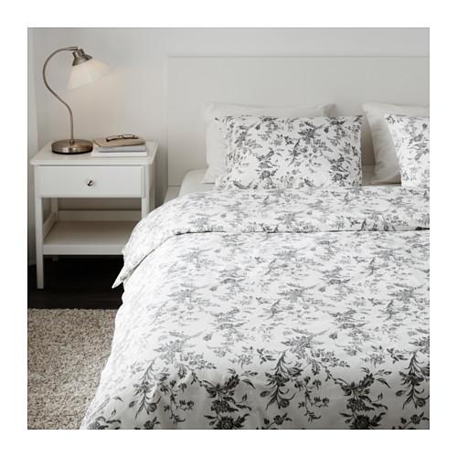 ALVINE KVIST sarung quilt dan 4 sarung bantal