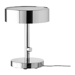 STOCKHOLM 2017 - Table lamp, chrome-plated