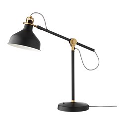 RANARP - Work lamp, black