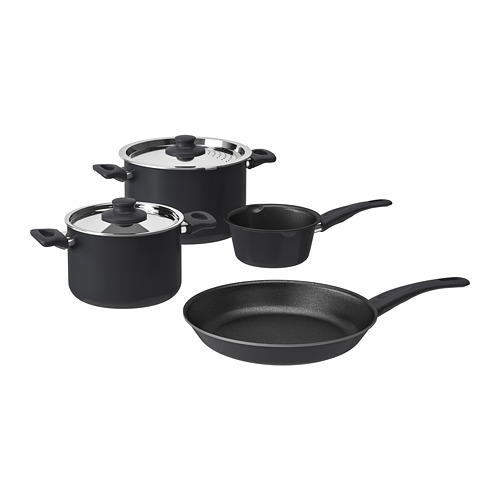 SKÄNKA set 6 unit peralatan memasak