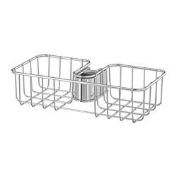 VOXNAN - Tempat peralatan mandi, dilapisi krom