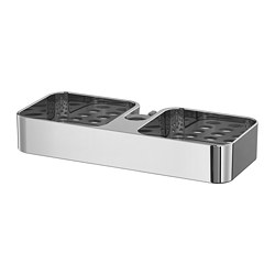 BROGRUND - Shower shelf, chrome-plated