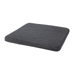 HILLARED - Chair pad, anthracite