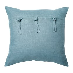 AINA - Sarung bantal kursi, biru muda
