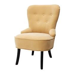 REMSTA - Armchair, Djuparp yellow-beige