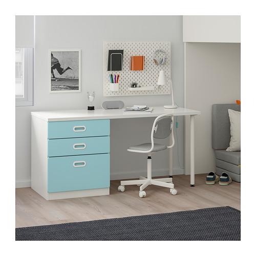 FRITIDS/STUVA loft bed combo w 3 drawers/2 doors