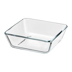 MIXTUR - Oven/serving dish, clear glass