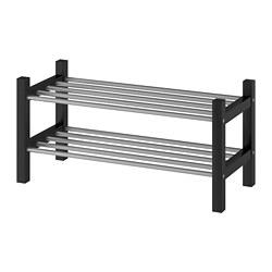 TJUSIG - Shoe rack, black
