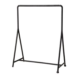 TURBO - Clothes rack, in/outdoor/black