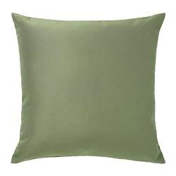 ULLKAKTUS - Bantal kursi, hijau-zaitun