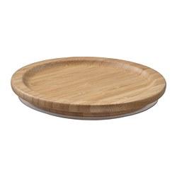 IKEA 365+ - Lid, round/bamboo