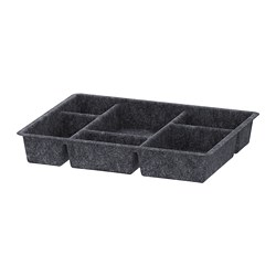 RAGGISAR - Tray, dark grey