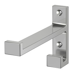 BJÄRNUM - Hook, aluminium