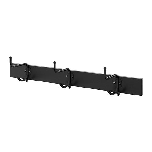 PINNIG rack with 3 hooks
