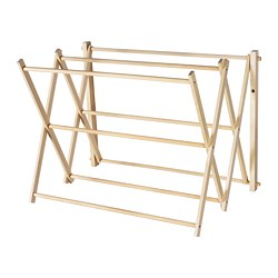 BORSTAD - Drying rack, wall
