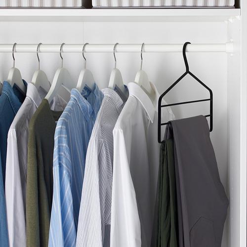 STRYKIS - gantungan celana, hitam   IKEA Indonesia - PE564401_S4
