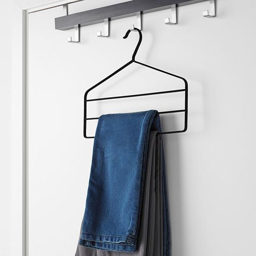 STRYKIS - gantungan celana, hitam   IKEA Indonesia - PE602438_S4