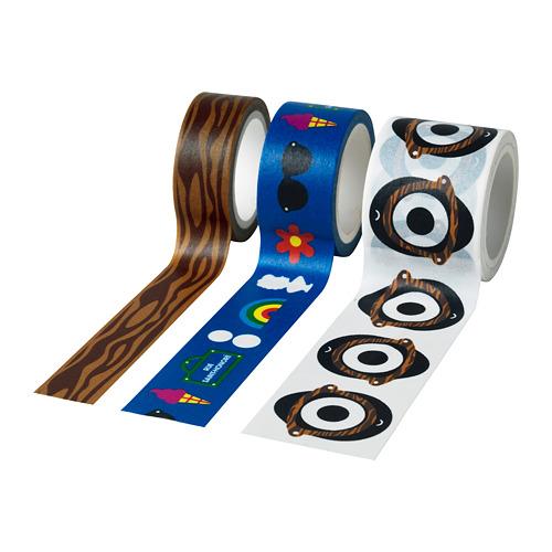 FÖRNYAD roll of tape, set of 3
