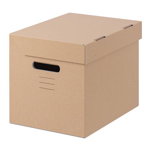 PAPPIS kotak dengan penutup
