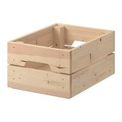 KNAGGLIG - Kotak, kayu pinus