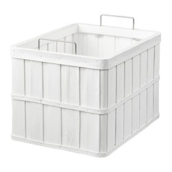 BRANKIS - Basket, white