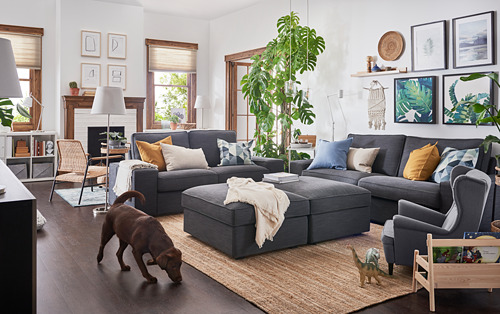 KIVIK - sofa 2 dudukan, Hillared antrasit | IKEA Indonesia - PH166570_S4