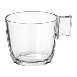 STELNA - Mug, kaca bening, 23 cl
