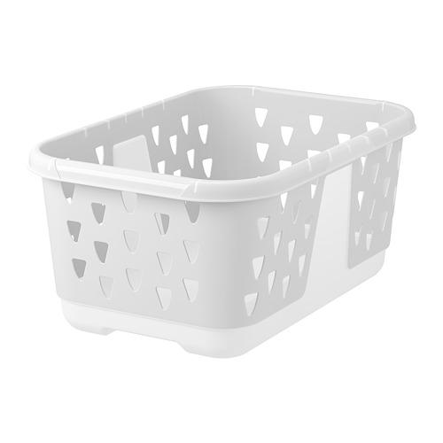 BLASKA - keranjang pakaian, putih, 36 l | IKEA Indonesia - PE728009_S4
