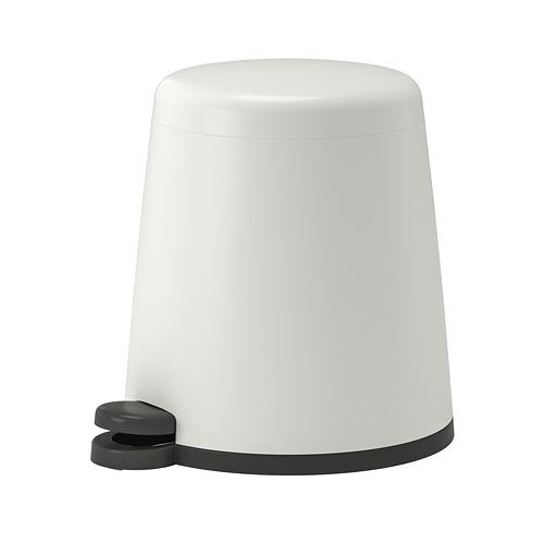 SNÄPP - tempat sampah berpedal, putih, 5 l   IKEA Indonesia - PE728039_S4