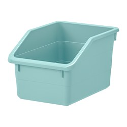 SOCKERBIT - Kotak penyimpanan, biru muda