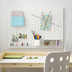 SKÅDIS - Pegboard combination, white