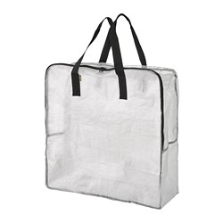 DIMPA - Storage bag, transparent
