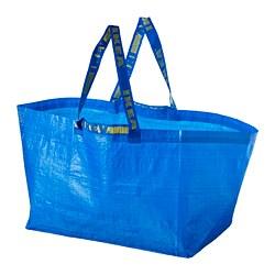 FRAKTA - Kantong belanja, besar, biru