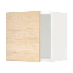 METOD - Kabinet dinding, putih/Askersund efek kayu ash terang, 40x37x40 cm