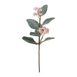 SMYCKA - Bunga tiruan, eucalyptus/merah muda