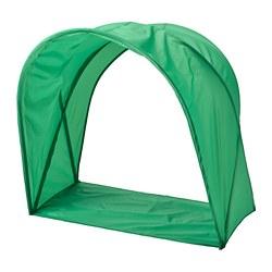 SUFFLETT - Tenda tempat tidur, hijau