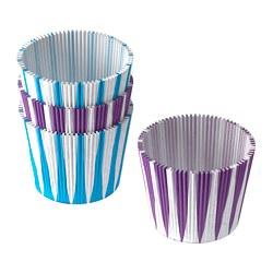 DRÖMMAR - Baking cup, blue/lilac