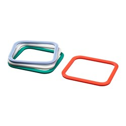 IKEA 365+ - Gasket, square/mixed colours