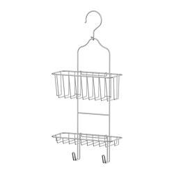 IMMELN - Gantungan shower, dua tingkat, dilapisi seng