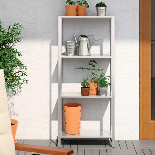 HYLLIS - unit rak , dalam/luar ruang, 60x27x140 cm | IKEA Indonesia - PE616502_S4