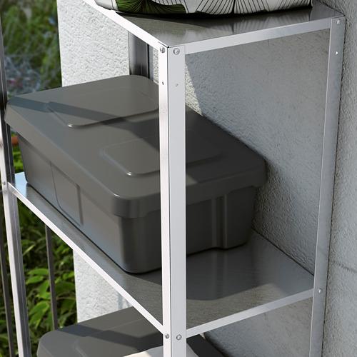 HYLLIS - unit rak , dalam/luar ruang, 60x27x140 cm | IKEA Indonesia - PE617014_S4
