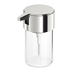 KALKGRUND - Soap dispenser, chrome-plated